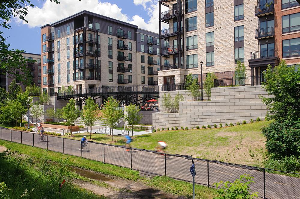 Elan Uptown Luxury Apartments, Trail view