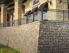 akita woodbury retaining wall