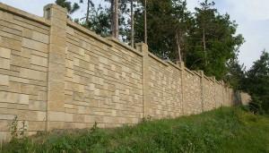 Allan Block Fence