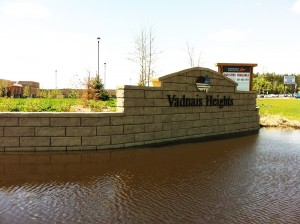 City of Vadnais Heights retaining wall